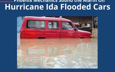 Phoenix Mechanics Sound The Alarm On Hurricane Ida Flooded Cars