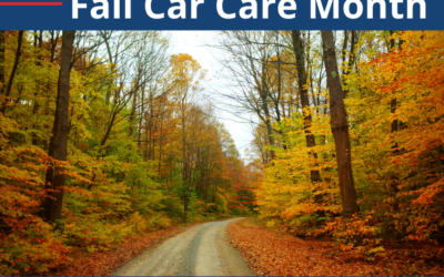 October is Fall Car Care Month!