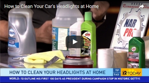 How to Clean Your Car's Headlights