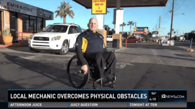 Valley business owner overcomes obstacles every day.